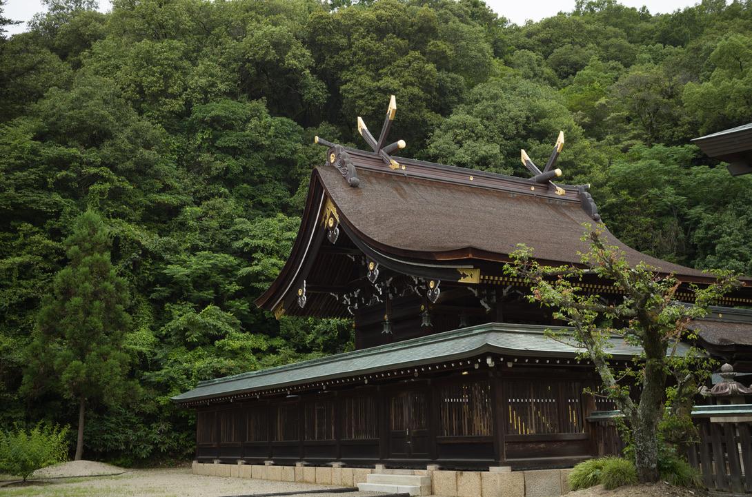 前回に途中で熱中症になったため引き返した、吉備津彦神社の御神山に登りました。